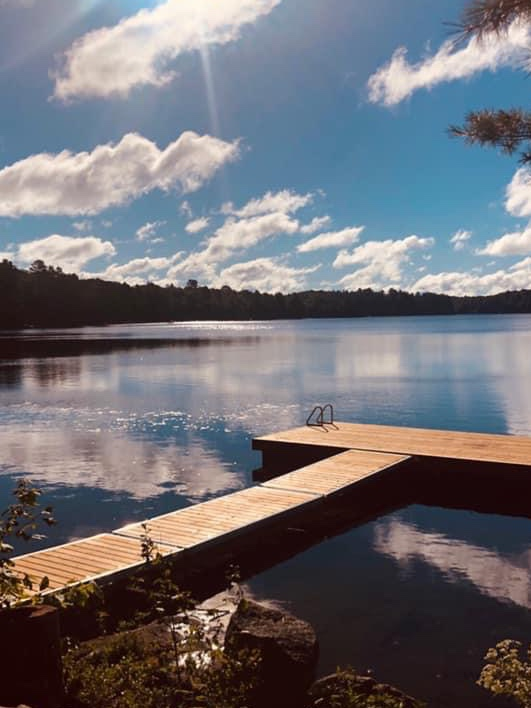 Haliburton, Cottage, Rental, Stormy, Lake, Spring, Summer, Fall, Dock