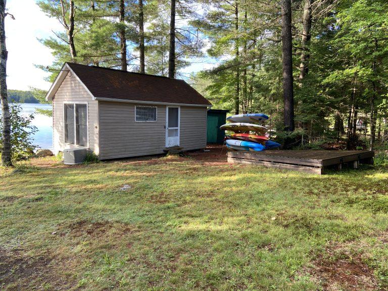 Haliburton, Cottage, Rental, Stormy, Lake, Spring, Summer, Fall, Bunkie, Kayaks, Paddleboards